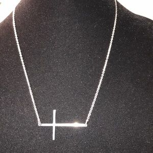 Stainless Steel Necklace w/ Cross